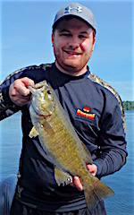Trophy Smallmouth BAss Fishing by David Wortz
